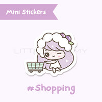 Shopping Planner Sticker