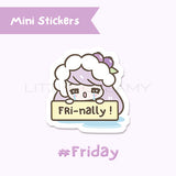Fri-Nally Planner Sticker