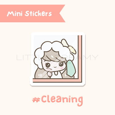 Cleaning Planner Sticker