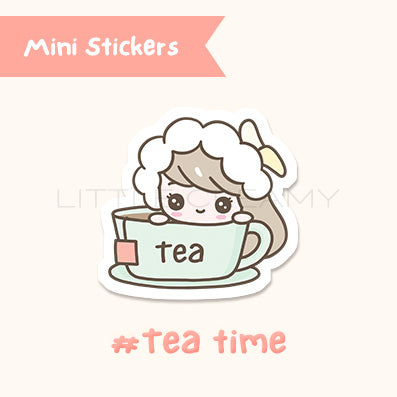 Tea Time Planner Sticker