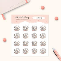 Cooking Planner Sticker