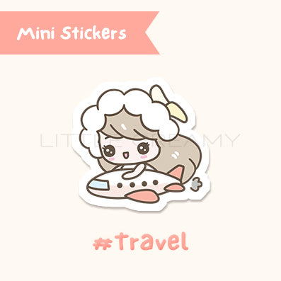 Travel Planner Sticker