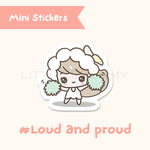 Cheerleader Planner Sticker