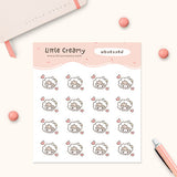Obsessed Planner Sticker