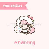 Painting Planner Sticker