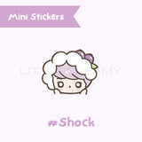 Shock Planner Sticker