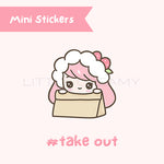 Take Out Planner Sticker