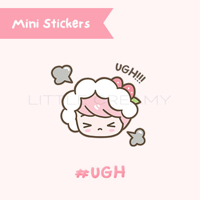 Ugh Planner Sticker