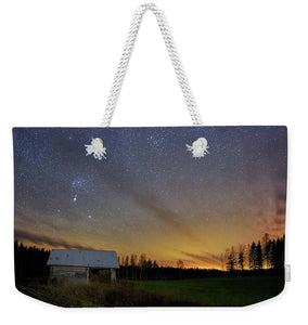 Bright Horizon With Starry Sky - Weekender Tote Bag