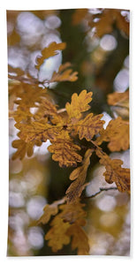 Oak In Autumn - Bath Towel