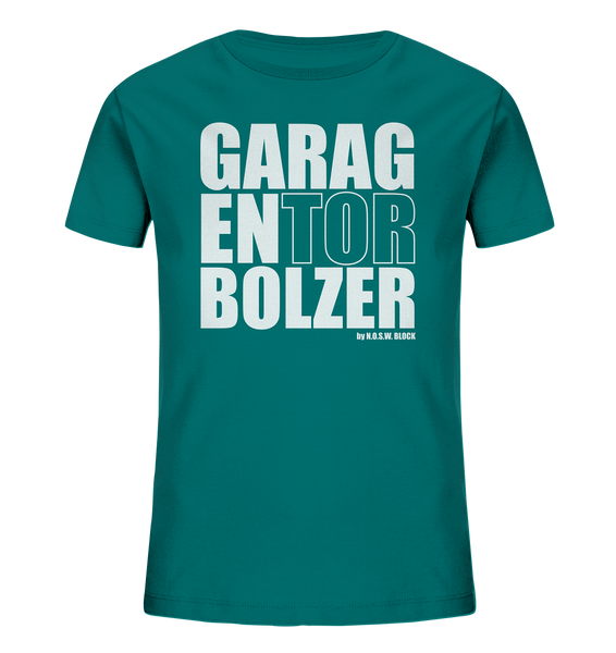 "Teamsport Shirt ""GARAGENTOR BOLZER"" Kids Organic UNISEX T-Shirt ocean depth"