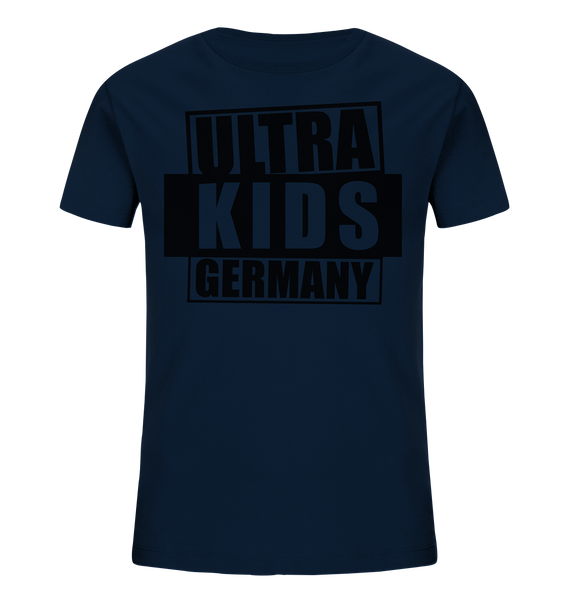 "Fanblock Shirt ""ULTRA KIDS GERMANY"" Kids UNISEX Organic T-Shirt navy"