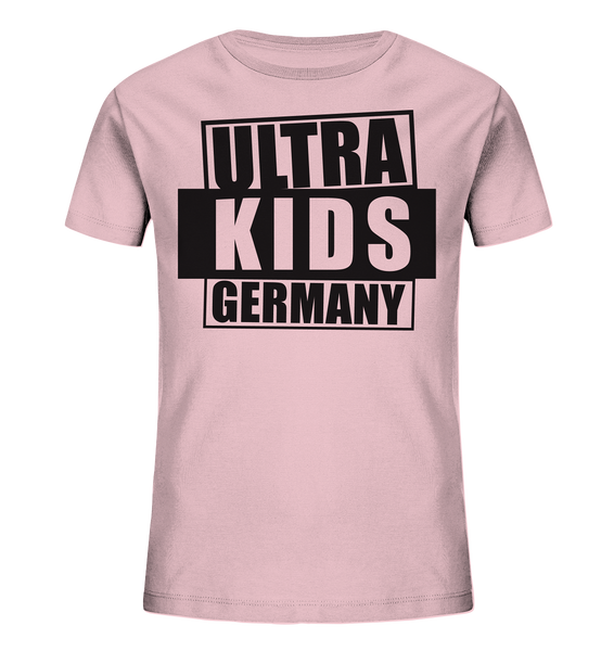 "Fanblock Shirt ""ULTRA KIDS GERMANY"" Kids UNISEX Organic T-Shirt pink"