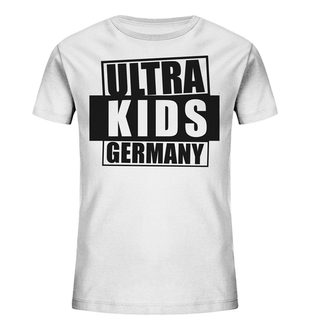 "Fanblock Shirt ""ULTRA KIDS GERMANY"" Kids UNISEX Organic T-Shirt weiss"