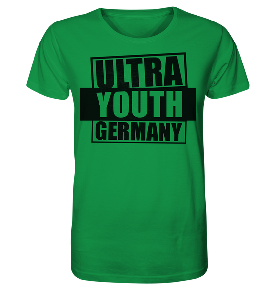 "Ultras Shirt ""ULTRA YOUTH GERMANY"" Männer Organic T-Shirt grün"