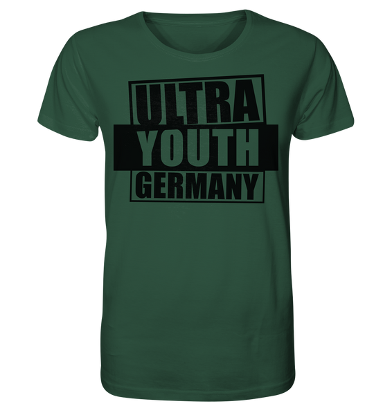 "Ultras Shirt ""ULTRA YOUTH GERMANY"" Männer Organic T-Shirt dunkelgrün"