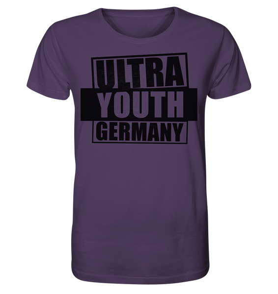"Ultras Shirt ""ULTRA YOUTH GERMANY"" Männer Organic T-Shirt lila"
