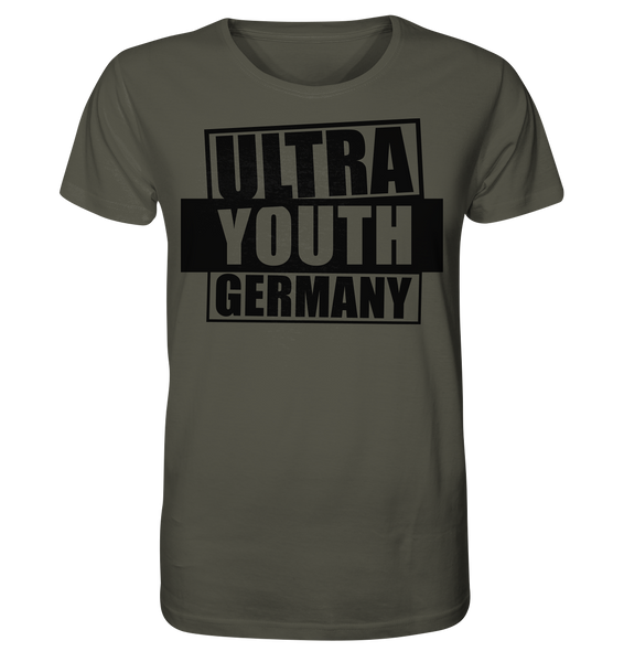 "Ultras Shirt ""ULTRA YOUTH GERMANY"" Männer Organic T-Shirt khaki"