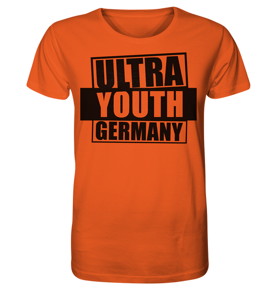 "Ultras Shirt ""ULTRA YOUTH GERMANY"" Männer Organic T-Shirt orange"
