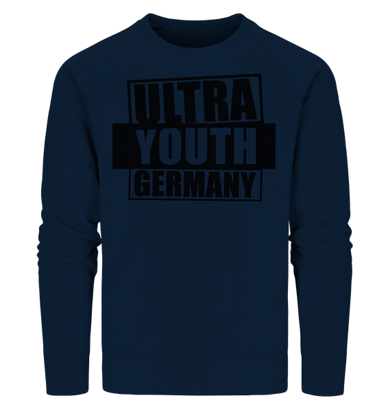 "Ultras Sweater ""ULTRA YOUTH GERMANY"" Männer Organic Sweatshirt navy"