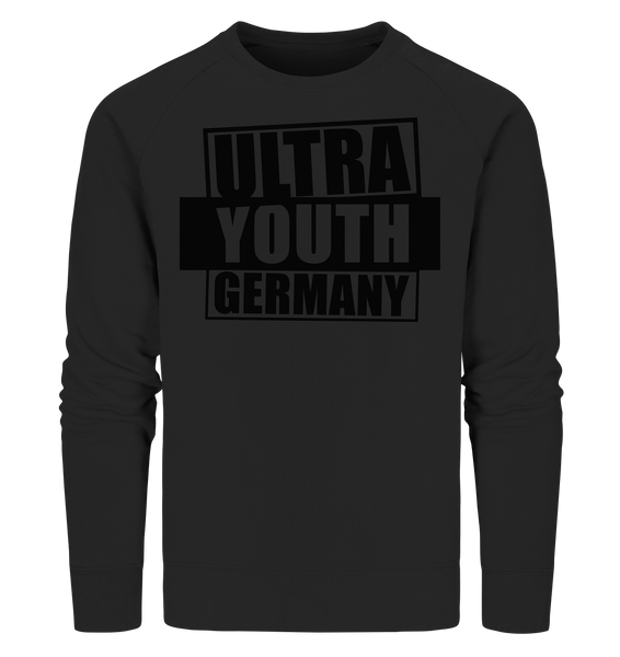 "Ultras Sweater ""ULTRA YOUTH GERMANY"" Männer Organic Sweatshirt schwarz"