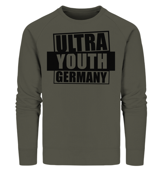"Ultras Sweater ""ULTRA YOUTH GERMANY"" Männer Organic Sweatshirt khaki"