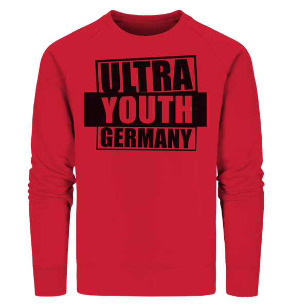 "Ultras Sweater ""ULTRA YOUTH GERMANY"" Männer Organic Sweatshirt rot"