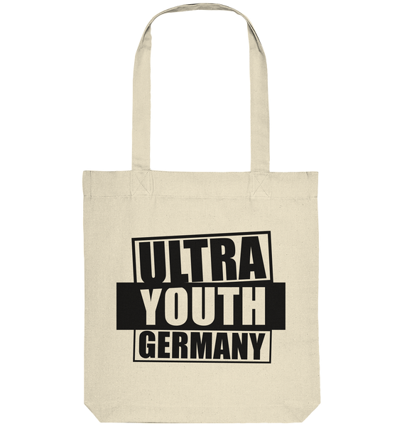 "Ultras Tote-Bag ""ULTRA YOUTH GERMANY"" Organic Baumwolltasche natural"