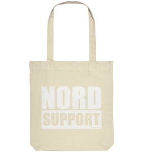 "Fanblock Tote-Bag ""NORD SUPPORT"" Organic Baumwolltasche natural"