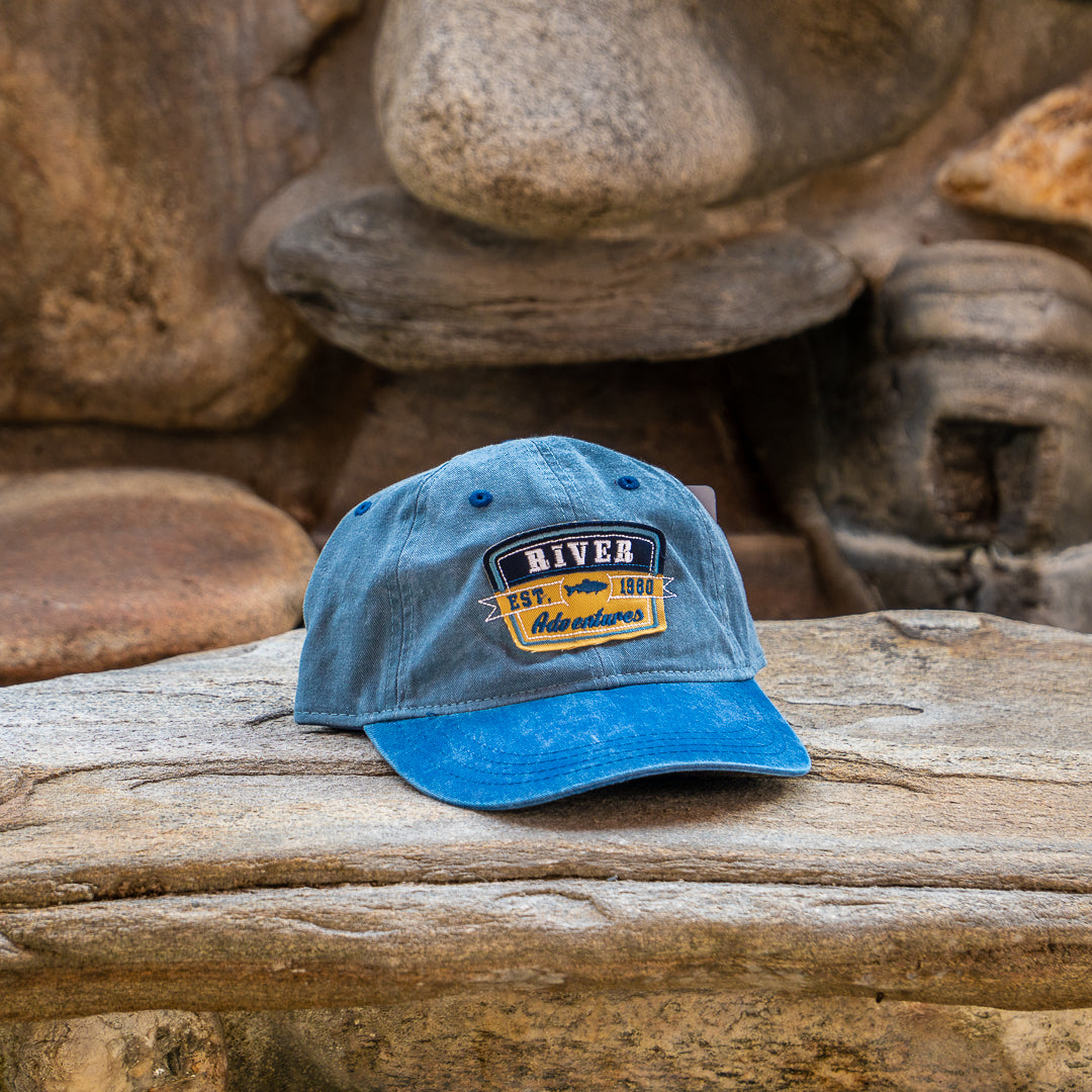River Adventures EST 1980 baseball cap