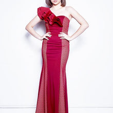 Load image into Gallery viewer, Rayna One Shoulder Long Dress