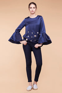 Mella Embllished Top