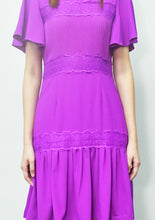 Load image into Gallery viewer, Lace Chiffon Dress