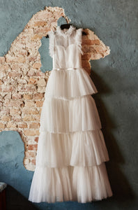 Veda Tulle Long  Dress