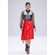 Load image into Gallery viewer, Maglifestyle Patent Leather Skirt (PREORDER)
