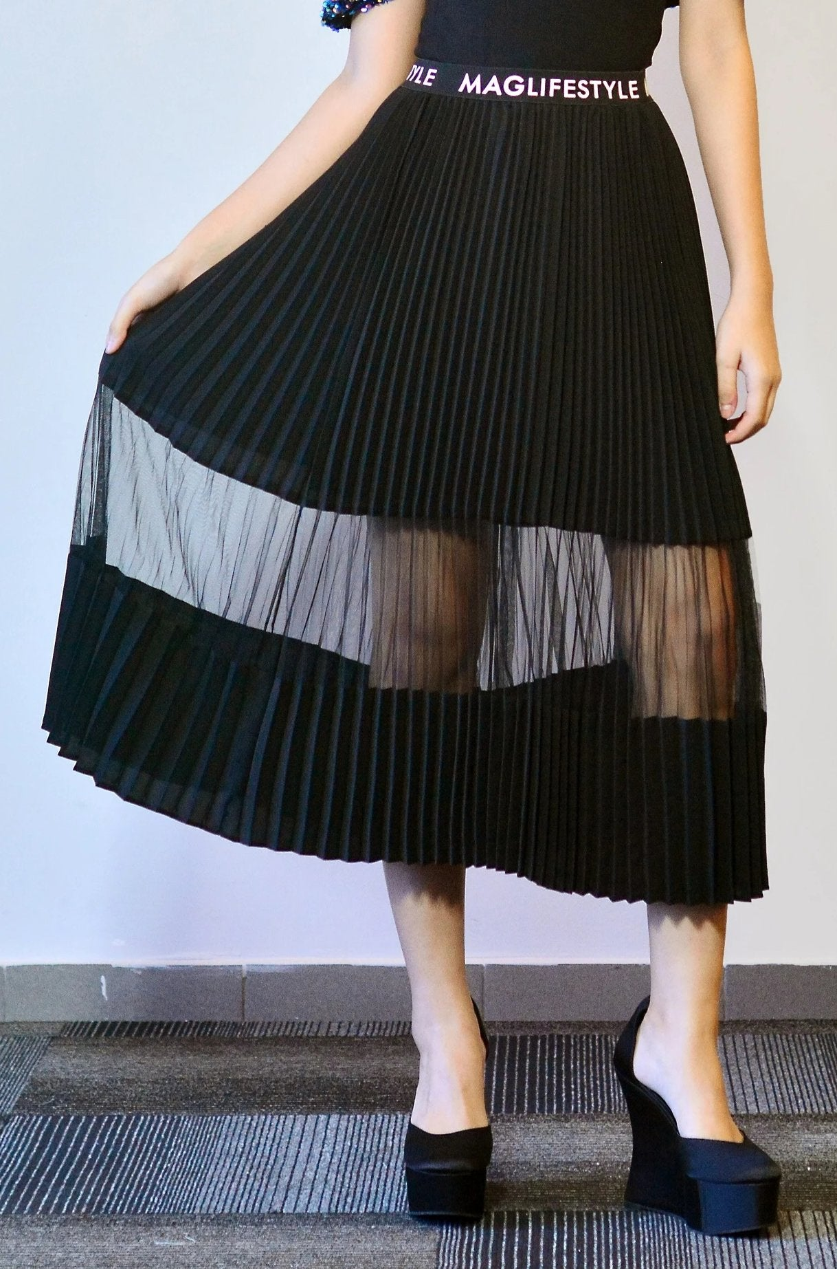 Maglifestyle Eliza Pleated Skirts