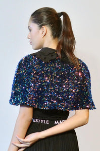 Maglifestyle Elena Sequined Cape