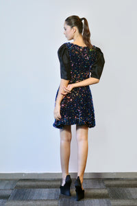 Maglifestyle Sequined Dress
