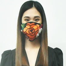 Load image into Gallery viewer, Cotton Sequin Beading Mask