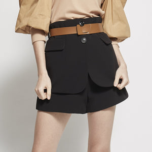 High Waisted Short Pant
