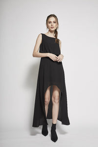 Alaia High-Low Dress (Daisy)