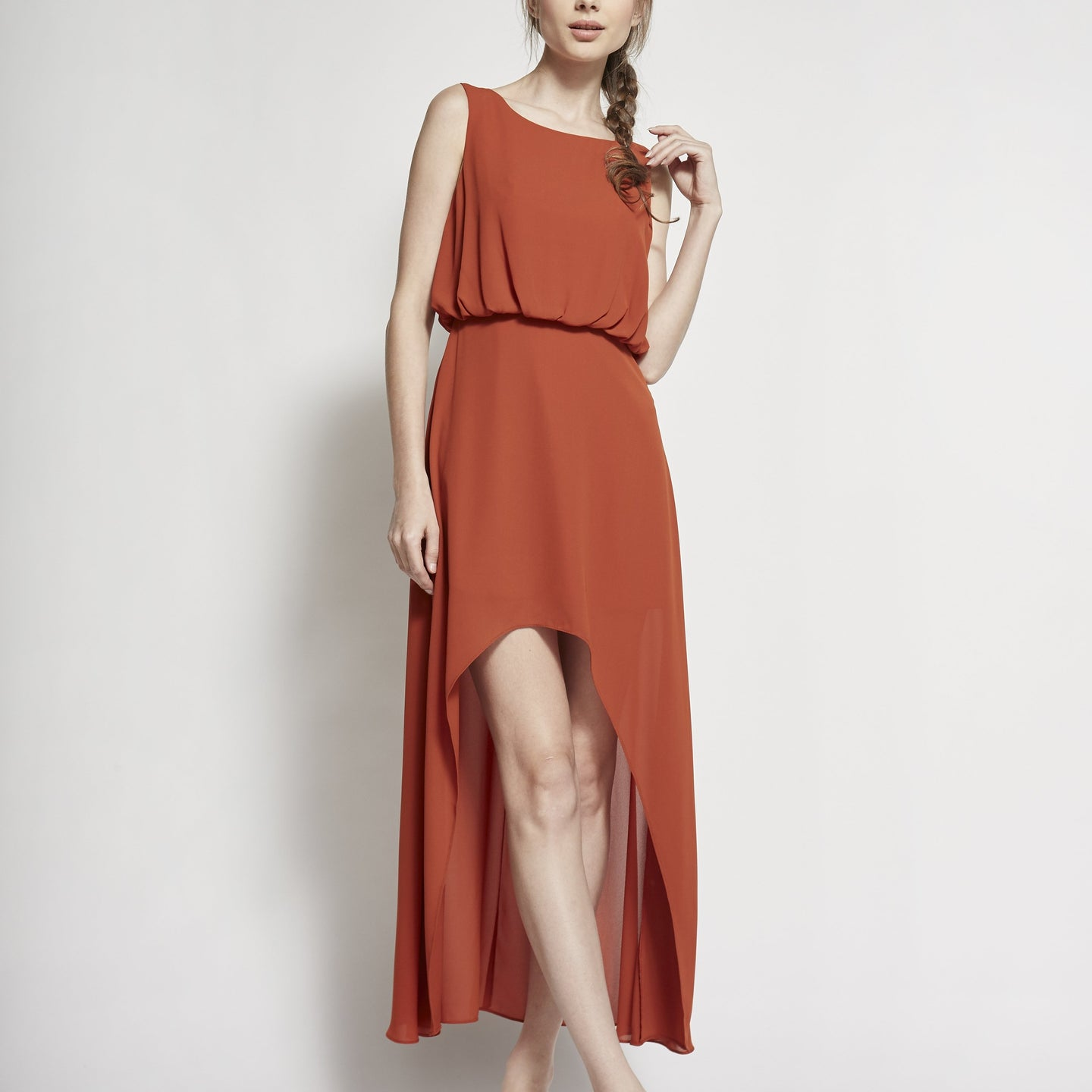 Alaia High-Low Dress