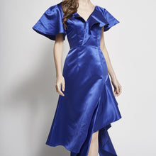 Load image into Gallery viewer, Shilo Ruffled Asymmetric Dress