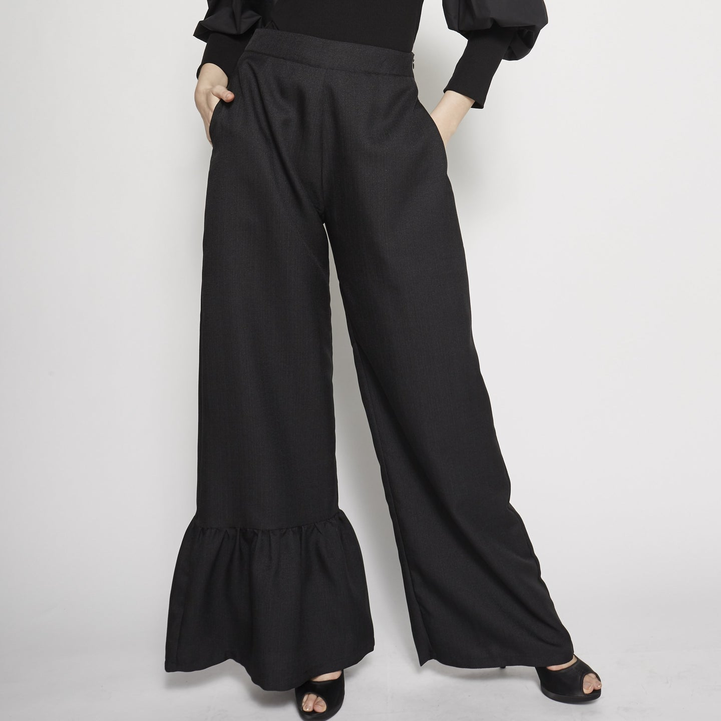 Ruffled Long Pant