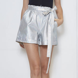 Maglifestyle Mix Leather Short Pants