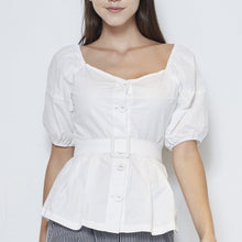 Load image into Gallery viewer, Cotton Top With Belt