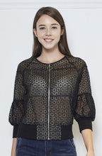 Load image into Gallery viewer, Guipure Lace Jacket