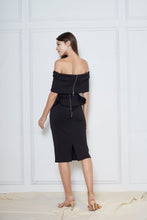 Load image into Gallery viewer, Unice Neoprene Off Shoulder Dress