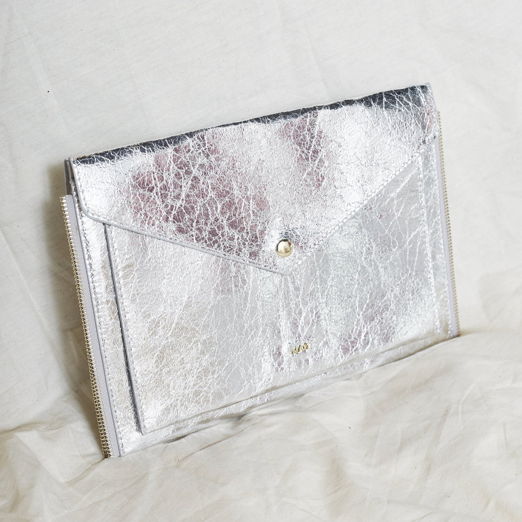 Gianna Zip Clutch