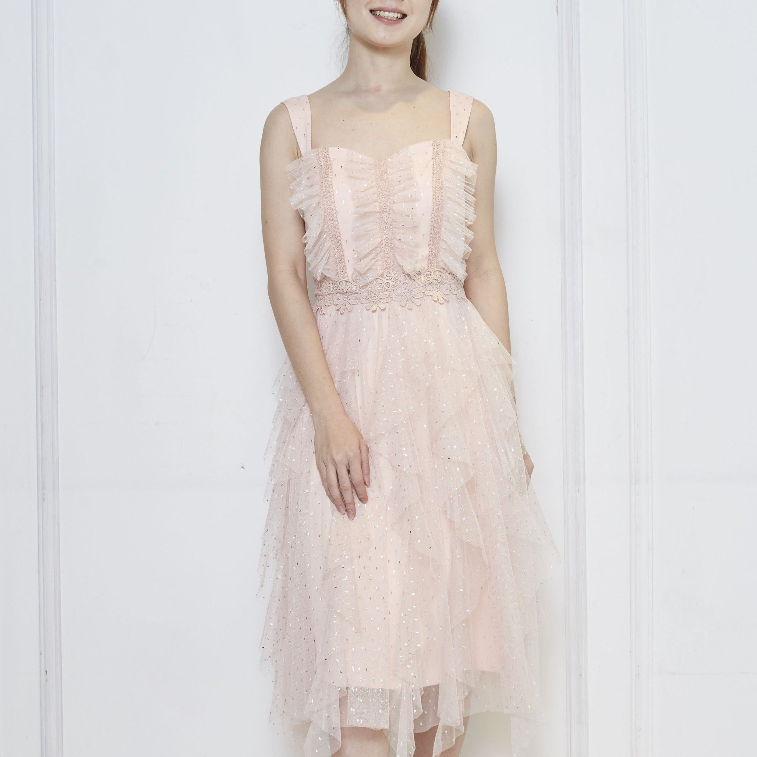 VITALIE TULLE DRESS